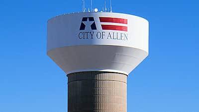Allen Water Tower - 1130 Junction Dr, Allen, TX 75013