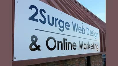 2Surge Marketing Sign