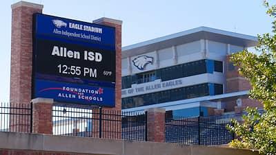 Allen Eagle Stadium - 155 Rivercrest Blvd, Allen, TX 75002